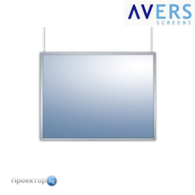 "Екран за предна прожекция AVERS NIMBUS FRAME, 89"", White Glass"